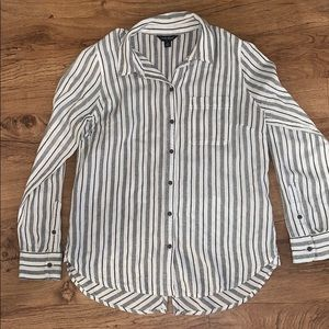 Lucky Brand Striped Button Down